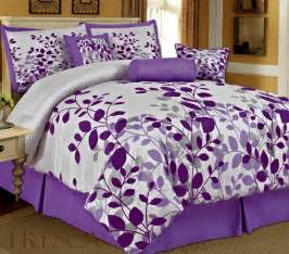 Purple Bed Sets 12 Cute And Awesome Purple Comforter Sets For Your Bedroom