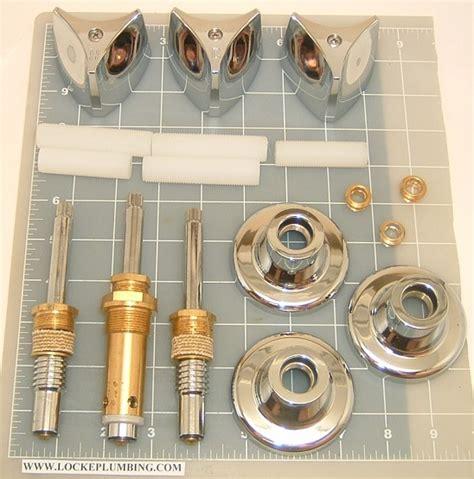 Crane Faucets Parts by Crane 3hankit 3 Handle Kit Locke Plumbing