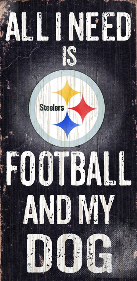 Reviews Of Home Design Outlet Center pittsburgh steelers football amp dog wood sign
