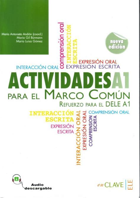 actividades para el marco actividades para el marco comun europeo a1 refuerzo para el dele a1 音声ダウンロード セルバンテス書店 スペイン語洋書