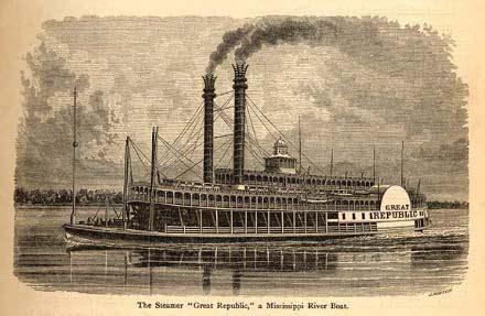 barco a vapor en la revolucion industrial la m 225 quina de vapor en el agua