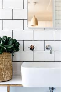 bathroom white tile black grout bathroom with white subway tiles and black grout modern