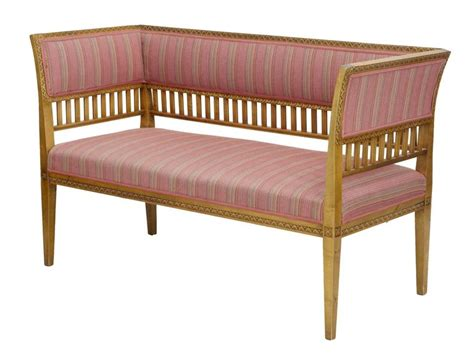 are birch sofas quality pair of small early 20th century birch sofas for sale at