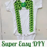 diy st s day bow tie onesie for diy archives sohosonnet creative living