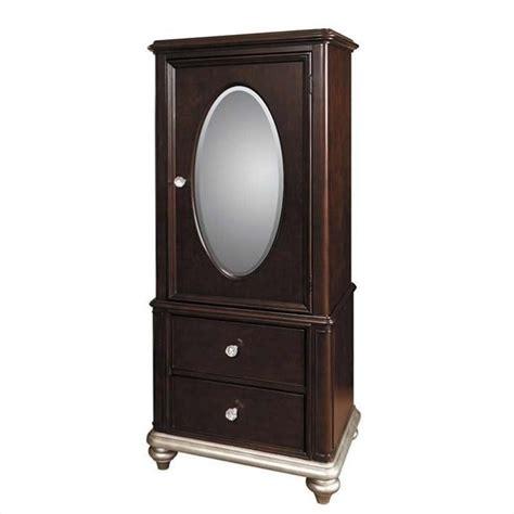 girls armoire samuel lawrence furniture girls glam dr black cherry wardrobe armoire ebay
