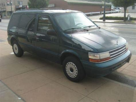 how to work on cars 1995 plymouth grand voyager lane departure warning buy used 1995 plymouth voyager in 9011 reading rd reading ohio united states for us 1 450 00