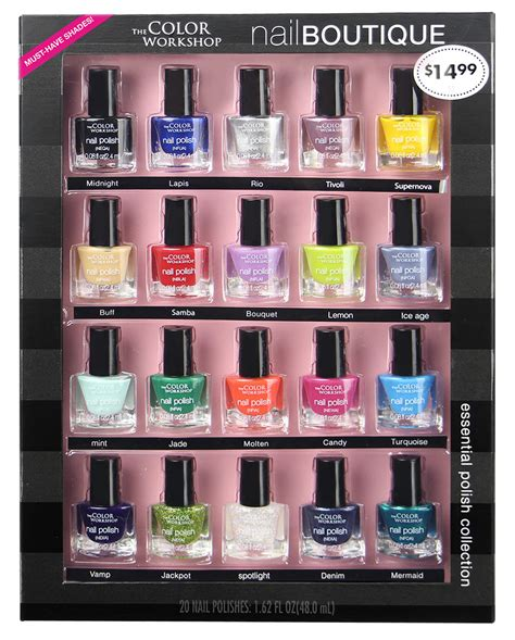 color workshop markwins international the color workshop nail boutique