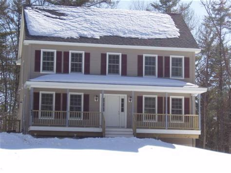 Colonial House With Farmers Porch by Cherry Hill Homes Inc Portfolio 3 Bedroom Colonial With