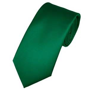 plain forest green satin tie from ties planet uk
