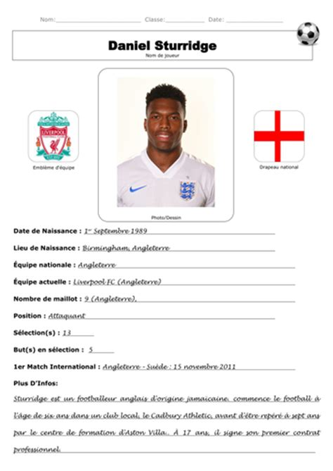 gallery of soccer player resume