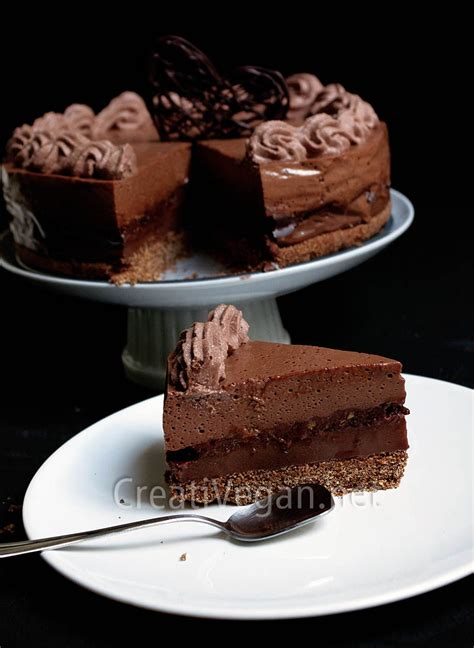 Chocolate La tarta 4 chocolates creativegan net
