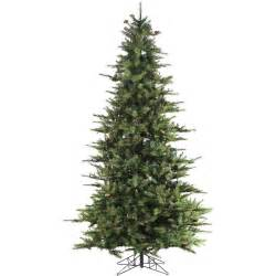 7 artificial tree home accents 7 ft noble fir set artificial
