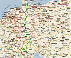 Map Of Southern Germany by Map Of South Germany