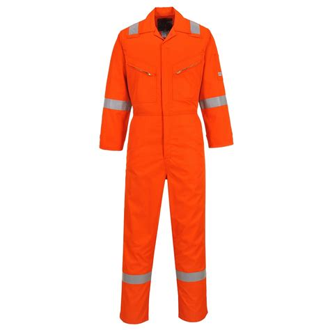 Coverall Nomex Portwest Nx50 Nomex Coverall With Reflective