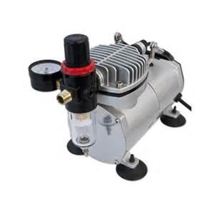 Air compressor titan mini airbrush air compressor 22958