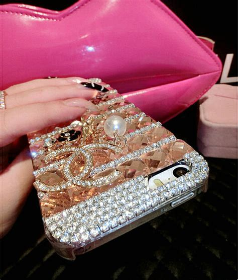 For Iphone 6 6s Plus Luxury Flower Bling Fashion So T0310 buy wholesale luxury chanel bling cases flower covers for iphone 6 plus chagne from