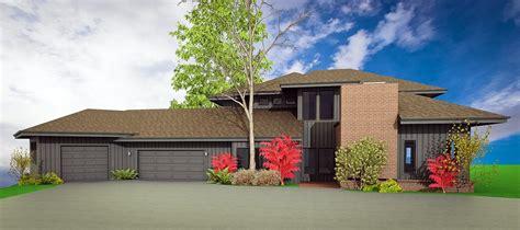 Hip Roof Addition Garage Addition Design Study Strite Design Remodel