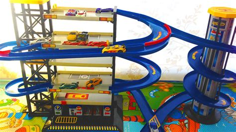 Plan Toys Garage by Plan Toys Parking Garage Wooden Set Woodworking