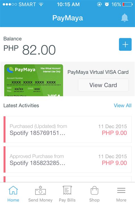 Can You Buy Spotify Premium With A Visa Gift Card - symbianize thread 2016