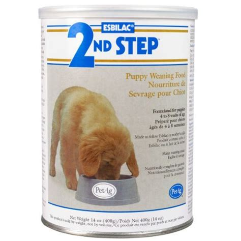 puppy weaning food petag esbilac 2nd step puppy weaning food 14oz my pet supplies