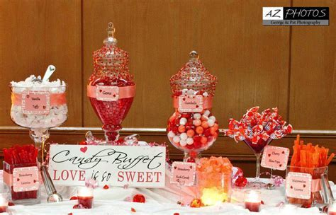 Candy Buffet Ideas For Wedding Reception