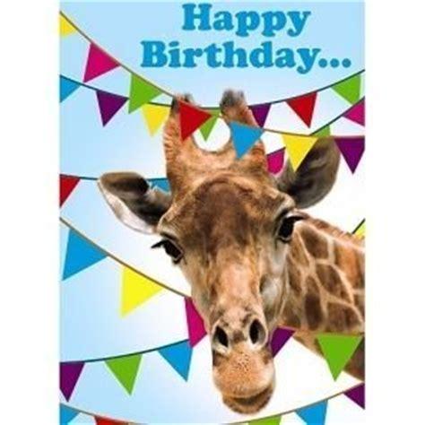 printable birthday cards giraffe happy birthday giraffe 3d holographic greetings card