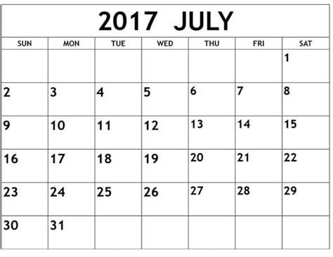 printable editable calendars 2017 july 2017 calendar editable template archives calendar