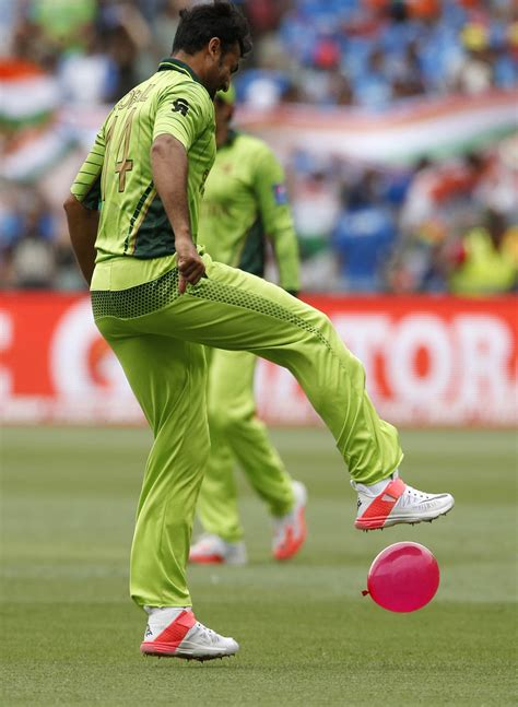 topshots from the pakistan india match sport