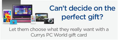 Currys Gift Card Pay Online - gift cards pc world