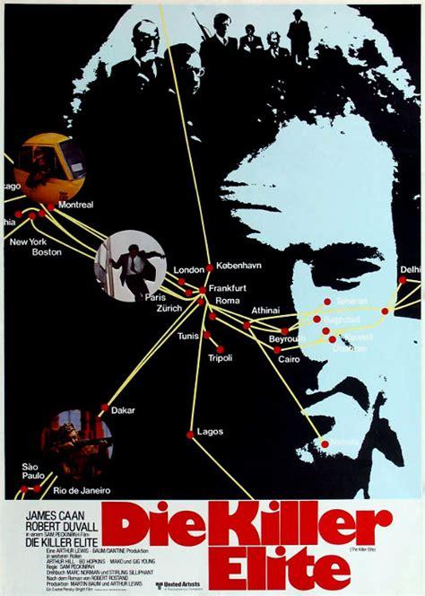 Plakat Filmu Kiler by Filmplakat Killer Elite Die 1975 Filmposter Archiv