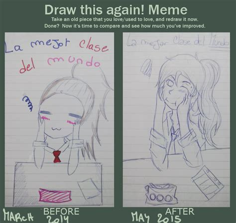 Draw This Again Meme Blank - meme draw this again the best class by ene chan144 on