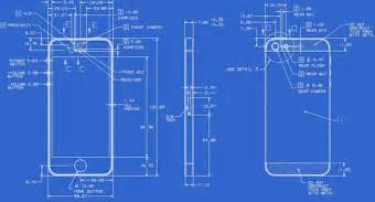 Blueprint Maker Apple Posts Full Detailed Blueprints For The Iphone 5