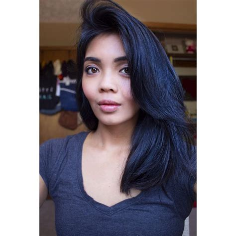 hair color black or midnight blue with subtle highlights or ombre brown blonde platinum grey dark blue black hair color that you can diy vidal sassoon