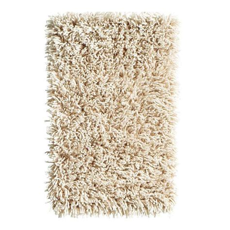 home decorators collection ultimate shag oatmeal  ft