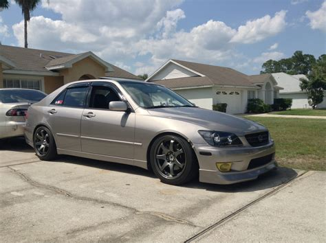 lowered lexus is300 post pics of your lowered is with offset 17s page
