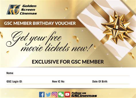 Gsc Hong Leong Credit Card Birthday