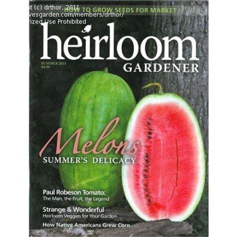 Vegetable Gardening Magazines Vegetable Gardening Quot The Heirloom Gardener Quot Magazine