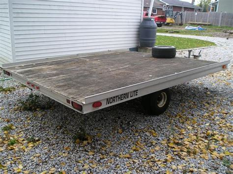 sled bed trailer double bed aluminum tilt snowmobile trailer sault ste