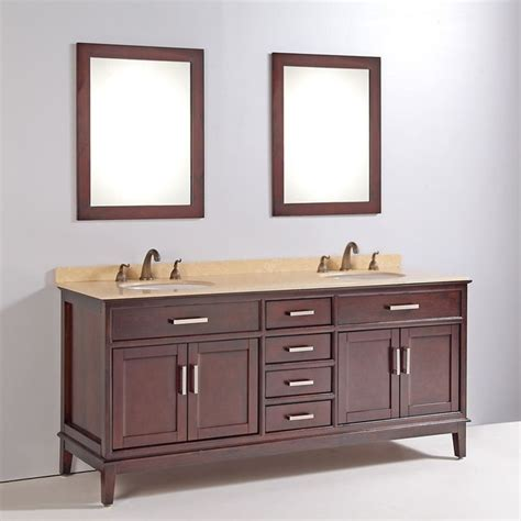 marble top 72 inch sink bathroom vanity with mirror