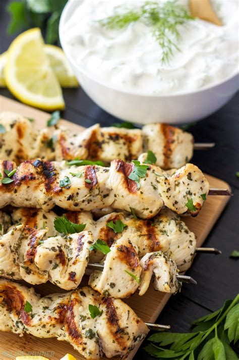 tasty and greatest everything you want to cook right now an official tasty cookbook books be healthy page lemon chicken skewers with tzatziki