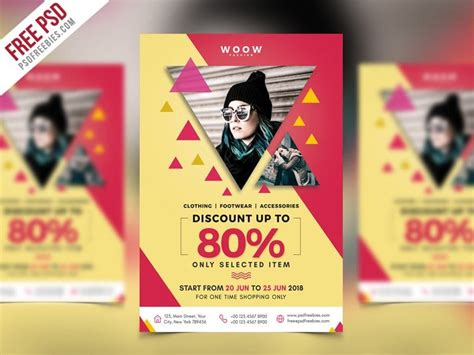 Best Free Flyer Templates Psd 187 Css Author Apparel Flyer Templates
