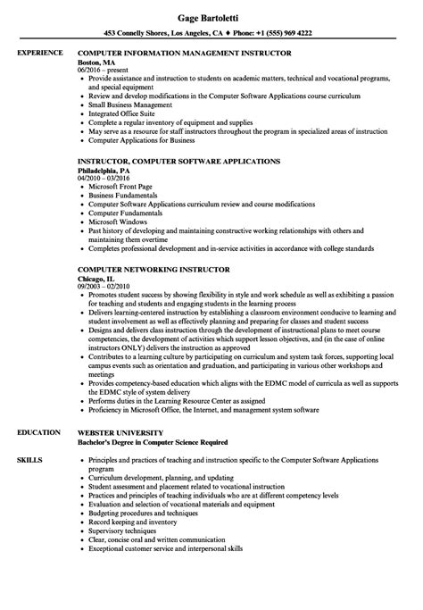 sle resume for assistant professor in computer science computer instructor cover letter sarahepps