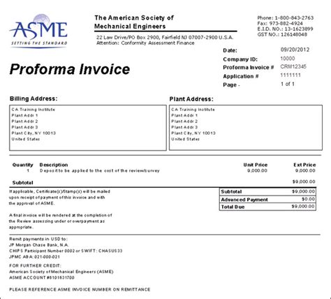 what is a what is a proforma invoice printable invoice template