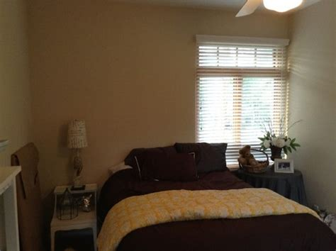 how to dress a bedroom window off center bedroom window what to do