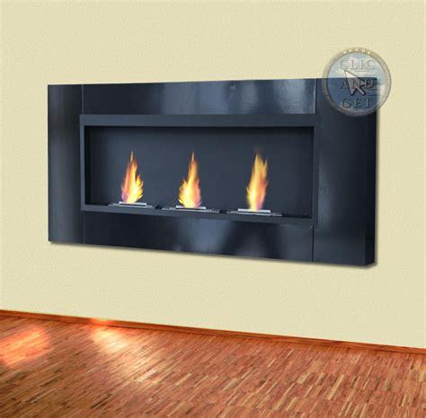 bio ethanol wall fireplace gel table ebay