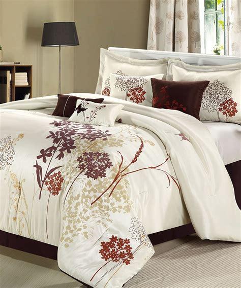 beige and white comforter white beige clara comforter set