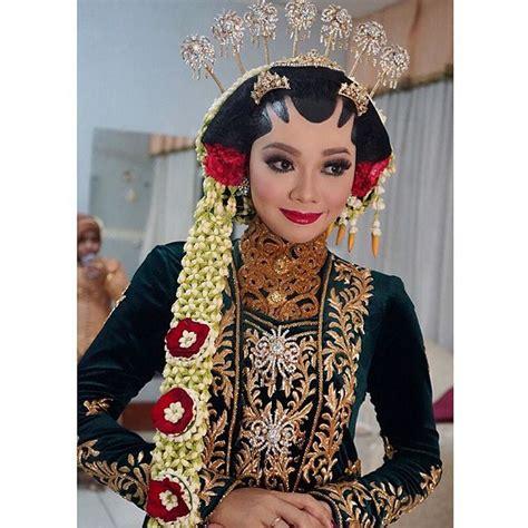 Sanggul Jawa Sunda 8 inspirasi makeup paes untukmu yang berhijab walau tertutup masih bisa mengusung pernikahan