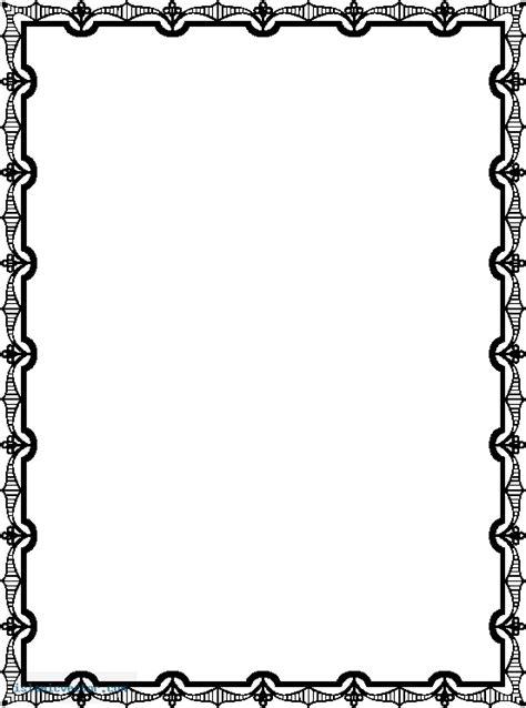 islamic pattern page border islamic border designs clipart best