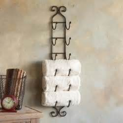 wine rack towel holder easy pinteresting diy home decorating ideas