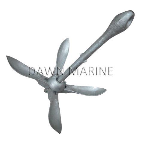 galvanized folding grapnel boat anchors folding grapnel anchor hot dip galvanized dawn marine